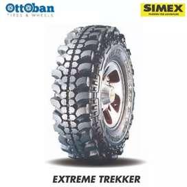 Ban Simex extreme treker Ukuran 32x9.5R15 bisa untuk Pajero Hilux