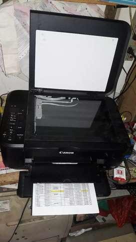 Printer canon tinta full print scan copy