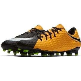 Nike Hypervenom Phelon II FG Soccer Shoes Orange/White