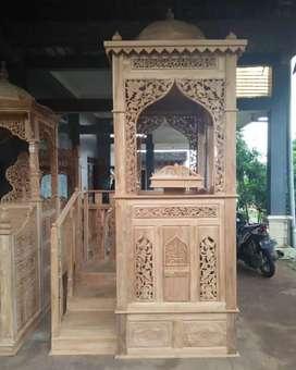 Mimbar masjid atap