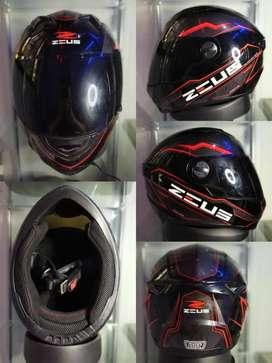Helm Full Face Zeus 811 al 12 fullset