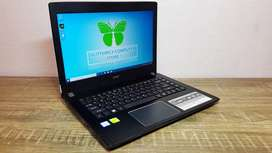 Laptop Gaming Rendering Acer E5-476G Core I5-8250U VGA Nvidia MX130