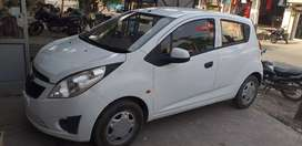 Chevrolet beat 2013 white