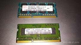 2x2=4GB, DDR3 RAM