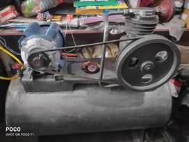 Air pump machine set
