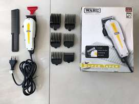 Clipper Mesin Wahl Wah-l Ori Made in USA Amerika Lengkap 4 Mata Pisau