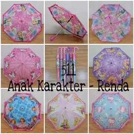 Payung renda anak
