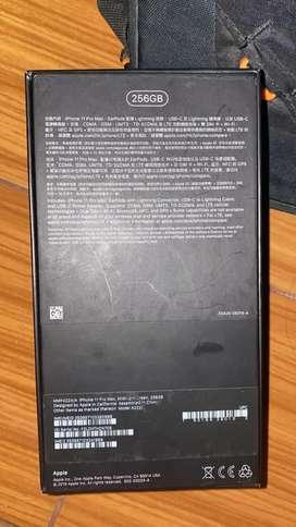 Dijual iPhone 11 pro max 256 gb