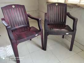 Plastic Chair-Set of 2