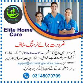 Nursing Staff Required Male or Female