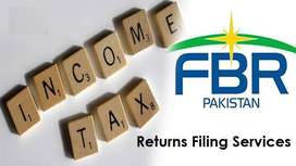 Income Tax Services - FBR Tax Returns Filing - ATL Filer Status