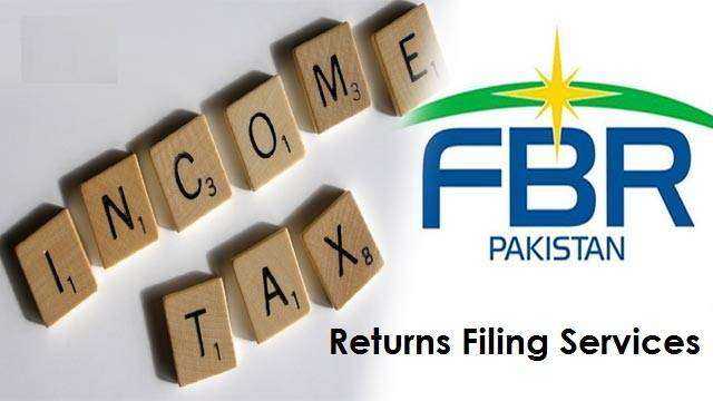 Income Tax Services - FBR Tax Returns Filing - ATL Filer Status 0