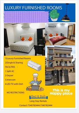 To-let Furnished rooms with kitchen