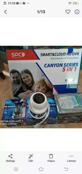PROMO Paket CCTV SPC 2MP. Hanya 1jtann Gratis Pemasangan