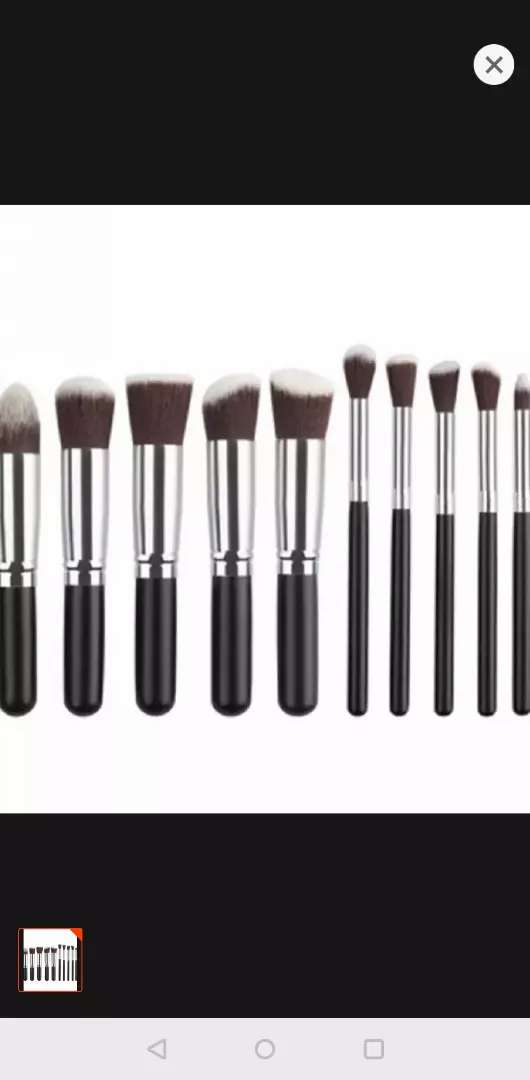Makeup brushes set with free delivery 0
