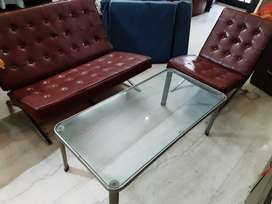 3 Seater Leather sofa/ Lounge set for sale