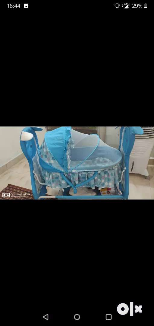 Baby cradle hardly used 0