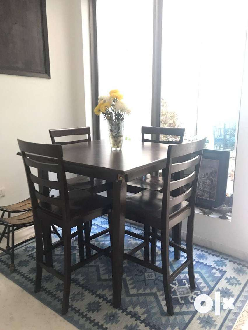 Solid Wood 4 seater Dining Set  (dining table + 4 dining chairs) 0