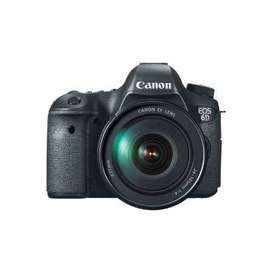 canon 6d avlible on rent