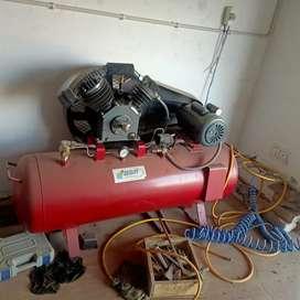 TyreAlligner ,balancer ,changer and air compressor with pressure gun