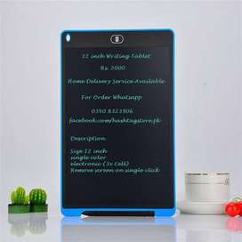 Free Delivery - 12 Inch LCD Writing and Drawing pad for Kids