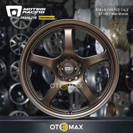 Velg Mobil Motegi Traklite MR131 Original Ring 18 Matt Bronze
