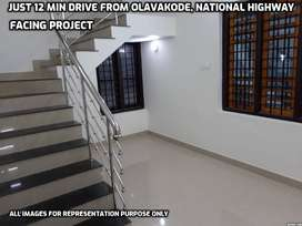 Tension Less Home Loan - Duplex House For Sale in olavakode