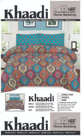 Printed Cotton Branded Bedsheet