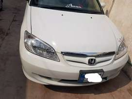 Honda Civic exi 2005 model manual