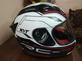 Helm Helmet KYT RC7 Grafik Mulus Jarang Pakai