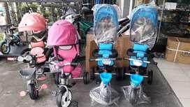 Sepeda anak roda tiga merk exotic  & gratis ongkir