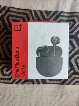 One plus earbuds gray