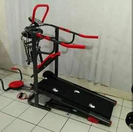 Treadmill manual 6 Fungsi TL-004 (Free Ongkir)