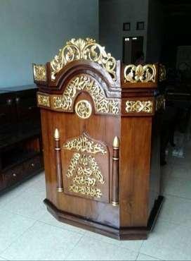 mimbar masjid podium khotbah