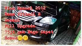 Jual B.U Vios 2012 manual Mantan Tercantik