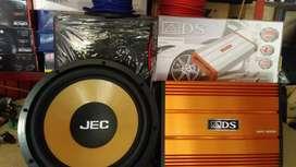 Promo: Power 4 Chnl watt gede+Subwoofeer 12 inchi+Box sub mdf+Psng
