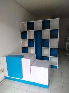 U36 Satu Paket Lemari Laundry Free Ongkir