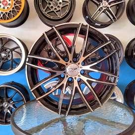 Oz Racing 15x7 H8 100 114.3 +35 untuk mobil BRIO HYUNDAI--