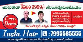 Hair systems @ 9999 only