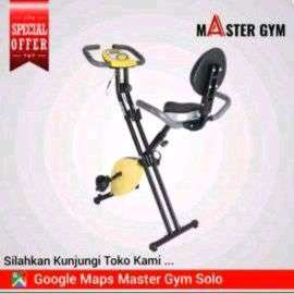 """Alat Fitness SEPEDA STATIS BIKE """"Master Gym"""" Be Fit Be Healthy ID#6102"""
