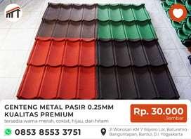 Genteng Metal Berpasir Berkualitas