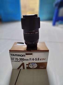 Jual lensa thamron Af 70-300 f/4-5.6 di  Ld macro 1:2