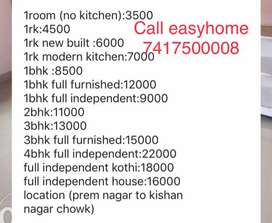 furnished 2room with kitchen bathroom