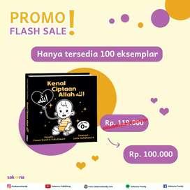 Promo Flash Sale!! Buku Kenal Ciptaan Allah.