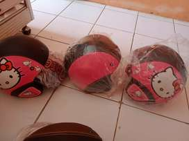 Helm bogo dewasa motif pink ( Barang sampai baru bayar ) COD