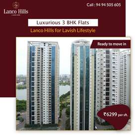 Most Spacious Luxury 3 BHK with exclusive amenities in ManiKonda.