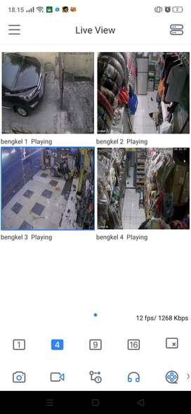Paket Dahua CCTV Kelas tinggi banget