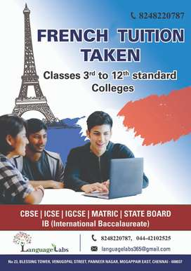 FRENCH TUITION FOR ALL CLASSES