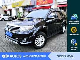 [OLX Autos] Toyota Fortuner 2013 2.5 G A/T Diesel Hitam #Chelsea Mobil