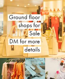 Prime ground floor shop with immediate rent
